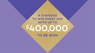 $400,000