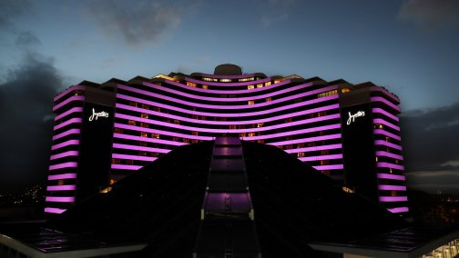 Facade Projection, Jupiters Gold Coast (purple).jpg