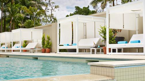 Deluxe Cabana Poolside