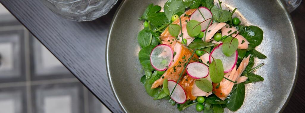 Garden Kitchen & Bar Salmon Salad