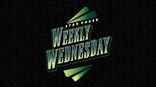 Star Poker Weekly Wedneday
