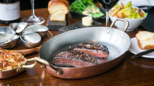 World's Best Steak Dinner with Time Out