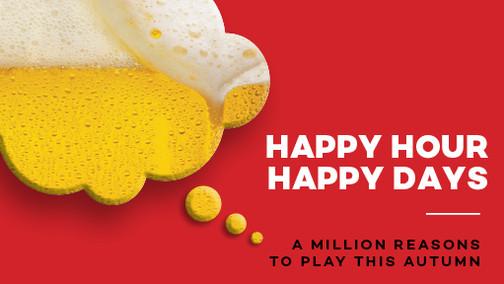 Million Reasons Happy Hour