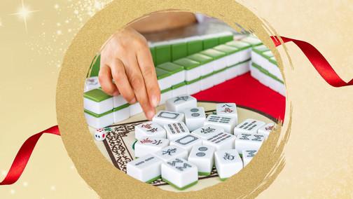 Lunar New Year Mahjong Garden