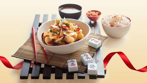 Lunar New Year Food Quarter