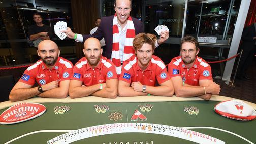 Swans Poker Night