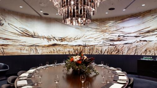 Black by ezard private dining