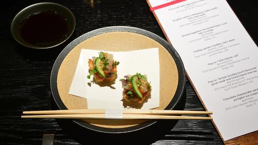 Sokyo Degustation Dinner Event