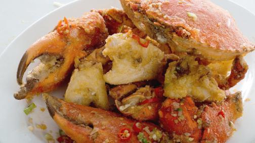 The Century Salt And Pepper Mud Crab