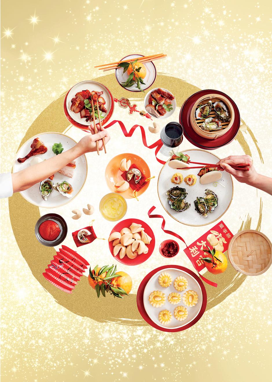 Lunar New Year Harvest Buffet